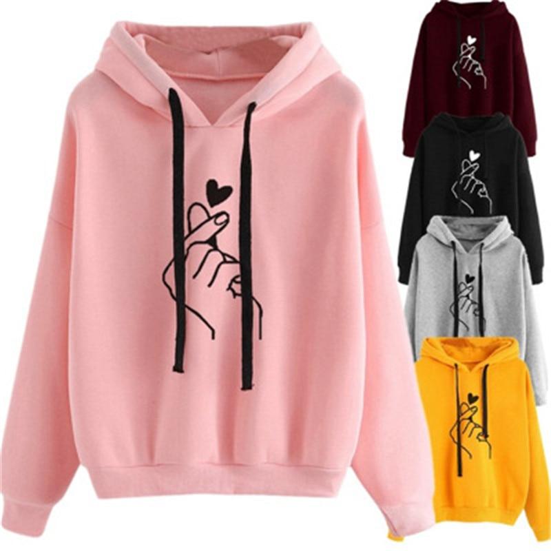 Yvlvol New Women Hoodies For Spring Autumn Sweatershirt Female 2019 Drop Shipping