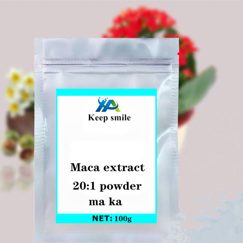 Maca root extract 20:1 powder Viagra for men festival glitter supplement enhanced energy refreshing and alleviating anxiety image