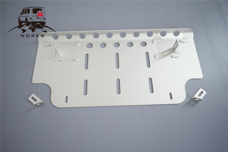 front skid plate (18)