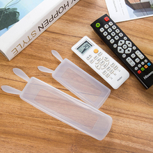 Storage-Bag Remote-Control-Case Dust-Protect Air-Conditioning Silicone Ear-Tv Transparent