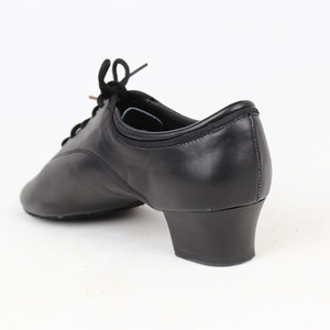 Image 4 - Zapatos de baile BD 417 para hombre, calzado de baile latino de salón, suela de cuero suave con abertura, zapatos de baile Samba Chacha Rumba Jive Paso doble