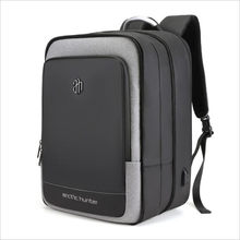 ArcticHunter Sale Laptop Backpack Men 17 inch Office Work Men Backpack Business Bag Unisex 10 inch iPad Backpack Thin Back Pack(China)