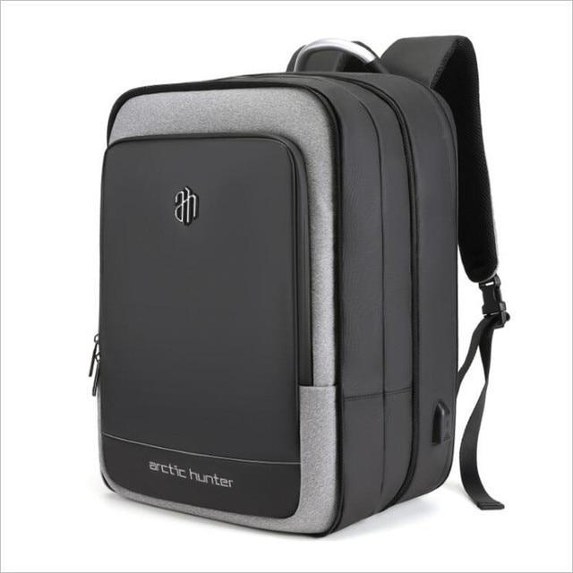 ArcticHunter Sale Laptop Backpack Men 17 inch Office Work Men Backpack Business Bag Unisex 10 inch iPad Backpack Thin Back Pack
