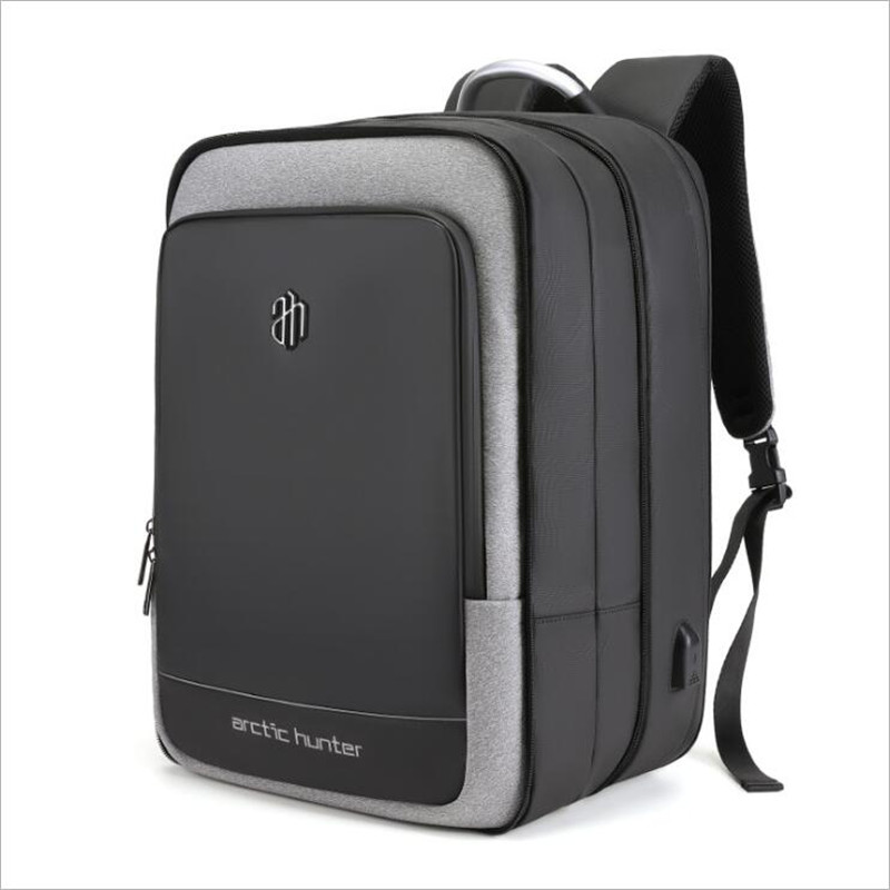 ArcticHunter vente sac à dos pour ordinateur portable hommes 17 pouces bureau travail hommes sac à dos d'affaires sac unisexe 10 pouces iPad sac à dos mince