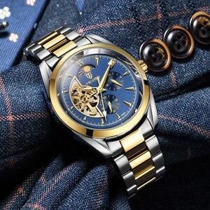 Image 5 - TEVISE 2019 Relógio Automático Tourbillon Relógios Mecânicos Homens Assistir Homens de Negócios relógio de Pulso Esqueleto Masculino Relógio montre homme 2019