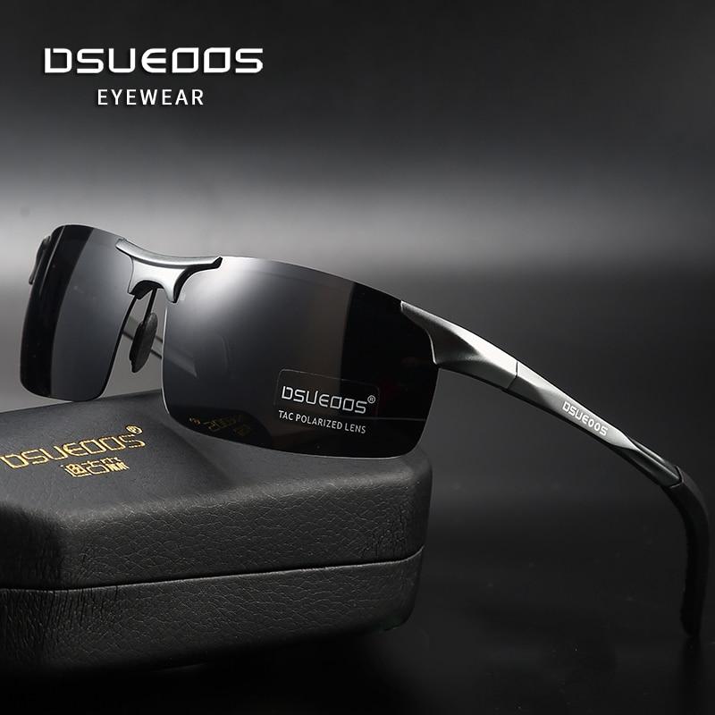 DSUEOOS 2021 new aluminum magnesium sunglasses men's sunglasses HD polarized driving driver glasses tide 1