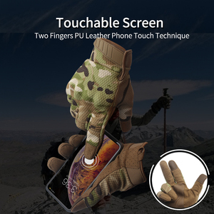Image 2 - Summer Touch Screen Camo Motorcycle Gloves Men Full Finger Motorbike Riding Gloves Women Motos Motocross Tactical Military