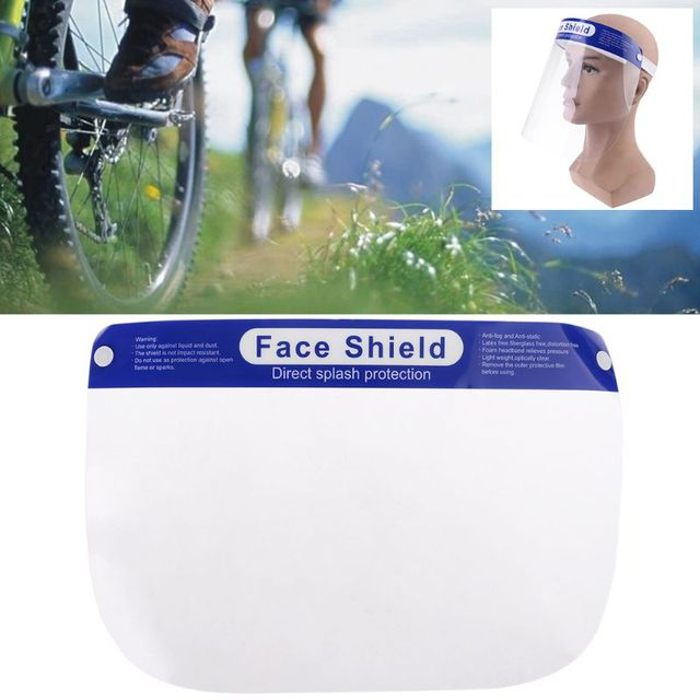 Protective Adjustable Face Masks Anti-Saliva Dust-Proof Full Face Cover Mask Visor Shield 5