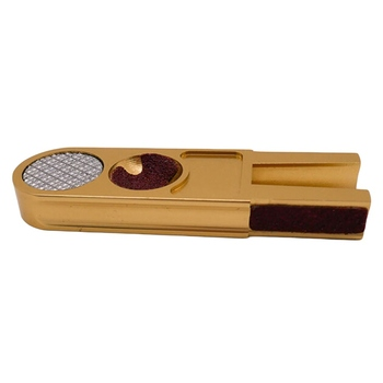 цена на Muti-functional U-shape Billiards Pool Cue Tip Trimmers Tapper Dime Shaper Nickel Shaper Trimmer Cue Tip Burnisher Repair Tool