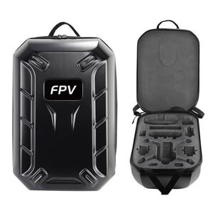 Image 2 - FPV Backpack Shoulder Bag Hard Case Box For DJI FPV Combo Goggles V2 Shockproof Remote Controller Drone Hardshell Storage Bag