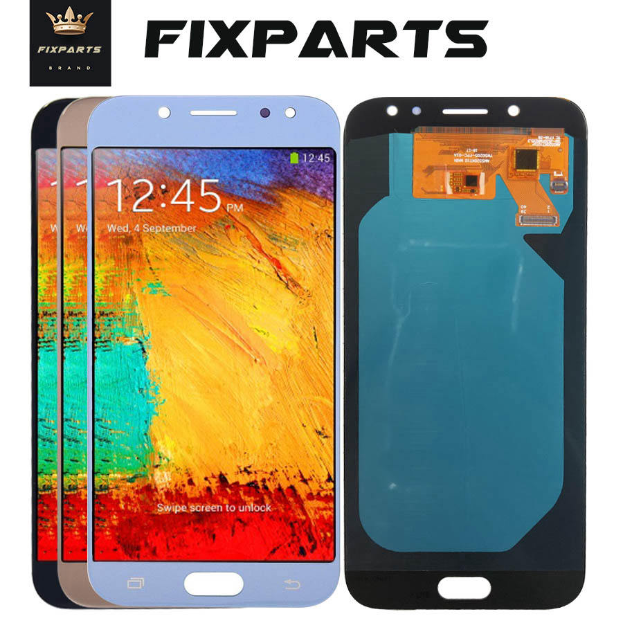 AMOLED Screen For <font><b>SAMSUNG</b></font> <font><b>GALAXY</b></font> J530 LCD J530F SM-J530F <font><b>J5</b></font> <font><b>2017</b></font> <font><b>Display</b></font> Touch Screen Replacement For 5.0