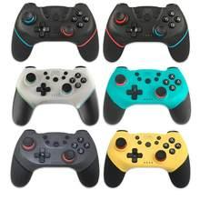 1 pçs gamepad para nintendo switch pro ns-switch console sem fio bluetooth gamepad jogo de vídeo usb controle controlador joystick quente