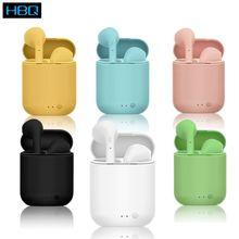 Mini-2 Tws zestaw słuchawkowy Bluetooth 5.0 bezprzewodowe słuchawki z mikrofonem etui z funkcją ładowania Mini słuchawki douszne słuchawki sportowe do smartfona nowy i9s