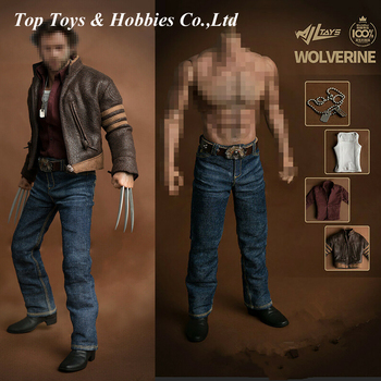 Wjltoy 1/6 Wolverines Clothes Outfits for Muscle body Wolverine Logan Male Figure Body Wide Shoulder 31CM