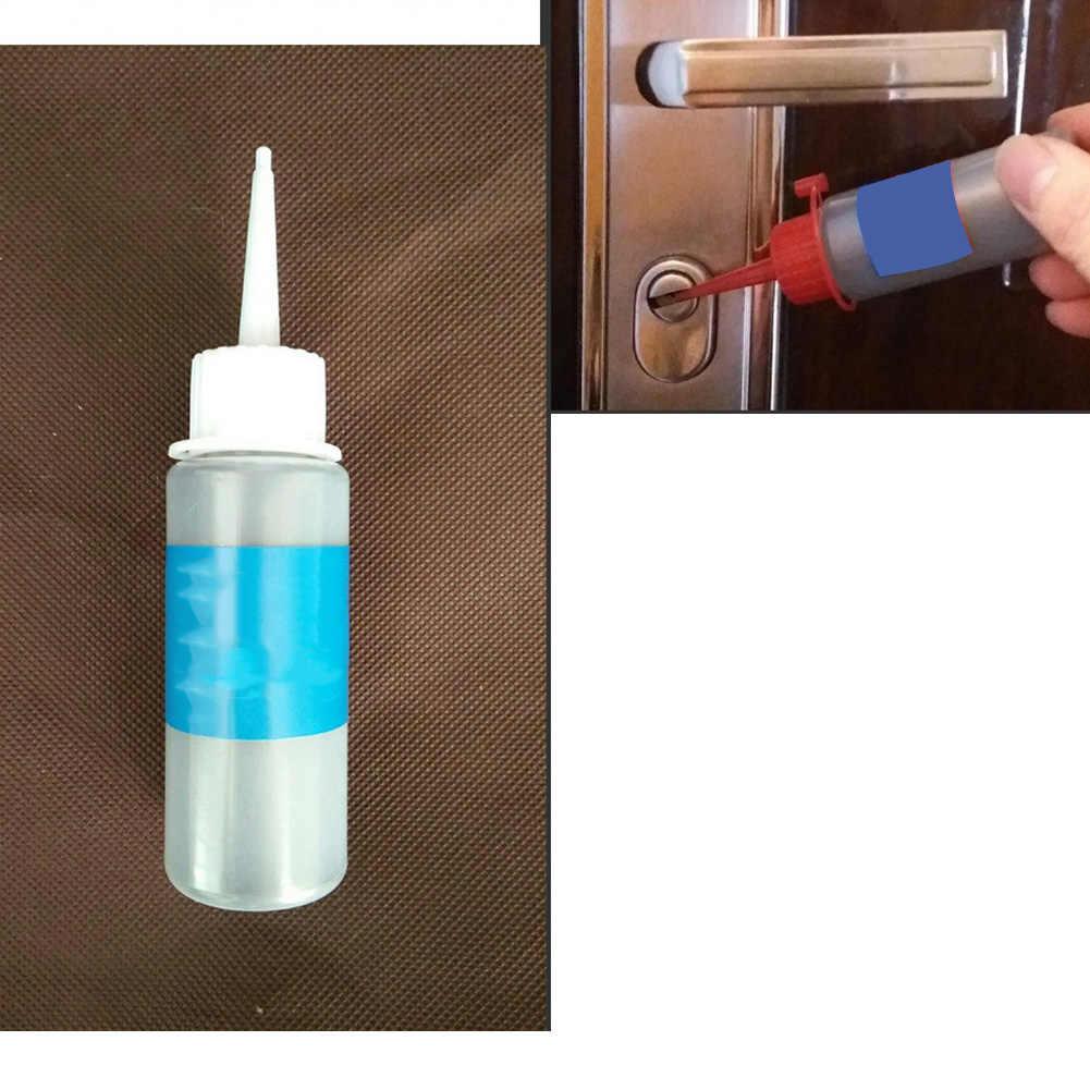 60ml grafit w proszku materiały ślusarskie kłódka domowa wkładka bębenkowa brama konserwacyjna praktyczna blokada samochodu smar nietoksyczny