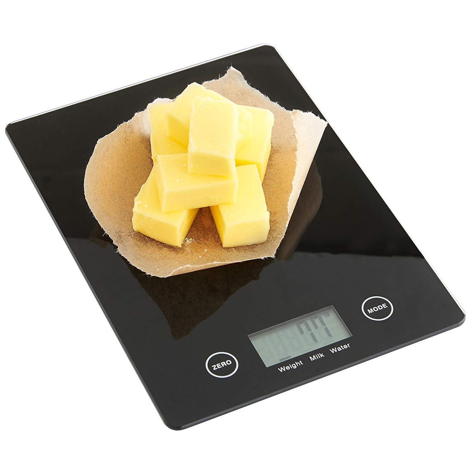 Household Kitchen Scale Electronic Food Scales Diet Scales Measuring Tool Slim LCD Digital Electronic Weighing Scale