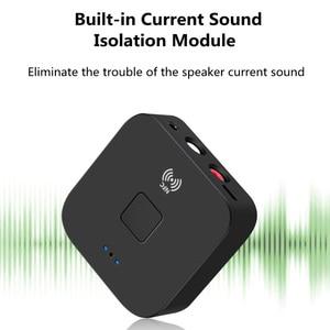 Image 3 - KEBIDU NFC Bluetooth 5.0 Receiver NFC 3.5mm AUX 2RCA Jack Hifi Wireless Adapter 3.5 Audio Receiver Auto On/OFF Bluetooth Adapter