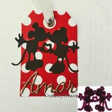 Metal cutting Die Mickey or Mouse scrapbook DIY scissors card photo album relief template