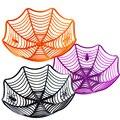 Halloween Black Spider Web Schüssel Obst Platte Süßigkeit Keks Paket Korb Schüssel Trick oder Behandeln Decor für Halloween Partei Liefert