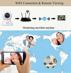 Image 5 - KONLEN Tuya 1080P WIFI Indoor IP Kamera PTZ HD Für Wireless Home Security Smart Leben APP Google Assistent Amazon alexa Unterstützung