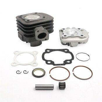 Kit de reconstrucción de cilindros de gran cilindro de 47mm y 70CC para Scooters con motor Jog Minarelli para Yamaha Jog Zuma Vino, Scooter de 2 tiempos, 50cc