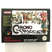 Cartucho de juego Chrono Trigger de 16bits con caja para consola Pal