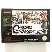 Chrono tetik 16bit oyun kartuşu kutusu Pal konsolu