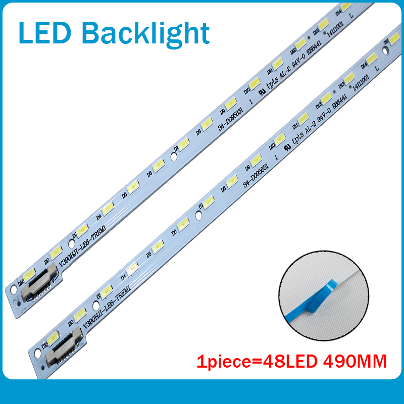 4 шт./лот для V390HJ1-LE6-TREM1 ТВ лампа C420E06E01A L390H101EA-C002 48LED 490 мм 100% новый