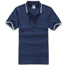 Polo de manga corta para hombre, Tops ajustados con cuello vuelto, camisas informales transpirables de Color sólido, Camisa Masculina de verano