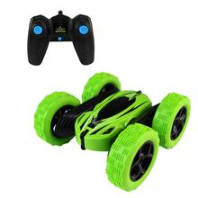 RCtown 360 Degrees Rotating Double Sided RC Stunt Car with L