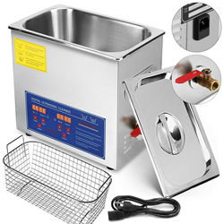 15 L Ultraschall Reiniger Schmuck Gebürstet Reinigung Tank 15L Reinigung Geschirr