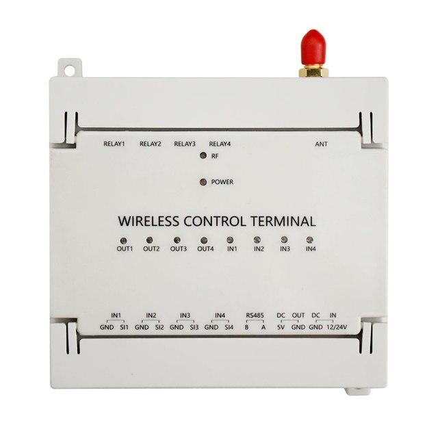 4 تتابع لورا لاسلكي للتحكم عن بعد 4 المدخلات 4 الناتج التبديل الذكي تشغيل/إيقاف XZ DC01 RCA