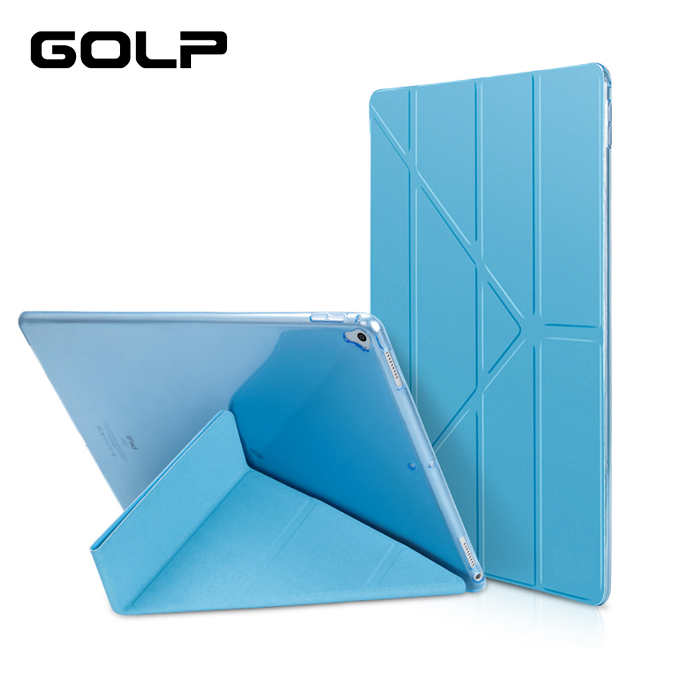 Case For IPad Pro 12.9 2018,PU Leather Front Cover Silicone Soft Smart Case For IPad Pro 12.9 2017 2016 2015 A1584 A1652 A1670