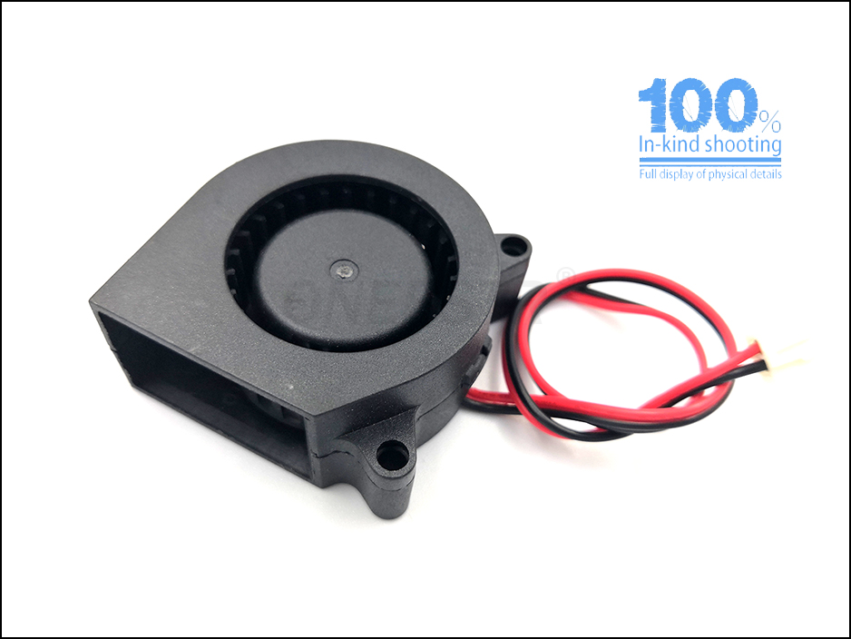 24V 12V//24V 4020 DC Blower Cooling Fan with Taiwan Imported Chips for 3D Printer Accessories-Black Bewinner 1.5 1.5 0.7 Inch 3D Turbo Fan