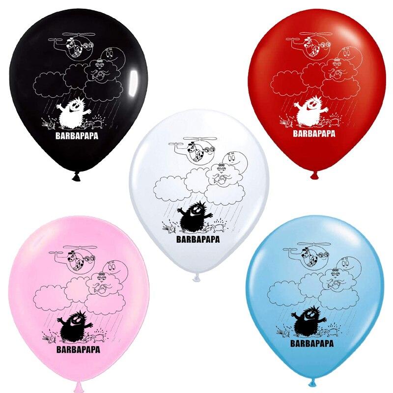 10 Pieces 12 Pouces Barbapapa Ballons Mignon Dessin Anime Theme Latex Ballons Joyeux Anniversaire Bebe Douche Fete Decoration Enfants Garcon Fille Jouet Aliexpress