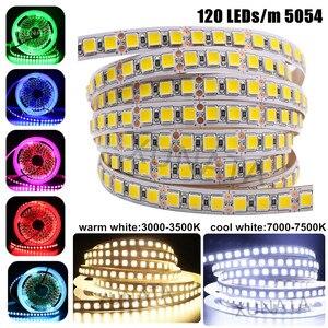 Image 5 - DC12V Led Strip 5050 5054 2835 240Leds/M Hoge Heldere Flexibele Led Touw Lint Tape Licht Lamp Warm wit/Koud Wit 5M