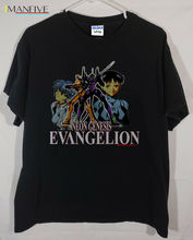 цены Rare Vintage 90's Anime Neon Genesis Evangelion T Shirt 2019 Summer New Brand T Shirt Men Hip Hop Men T-Shirt Casual Fitness