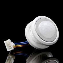40 мм светодиод PIR детектор инфракрасный датчик движения переключатель с временем задержкой регулируемым