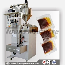 Liquid/Paste/Sauce Packaging Machine with Pumping System, Packaging Machine form fill seal machine automatic form fill and seal machine liquid soysauce packing machine
