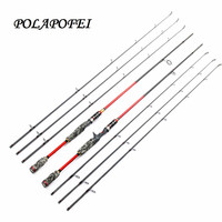 3 tips 100% Carbon Lure Fishing Rod Spinning Casting Rod Travel Fish Pole Peche Pesca Olta Carp Feeder Fit For Shimano Reel D265