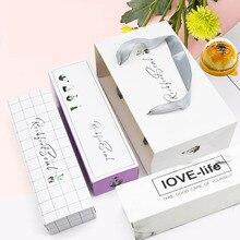 MissYe Store Пальмовые Листья цветы День рождения Свадьба Упаковка Сумки конфеты печенье бумага для нуги Подарочный пакет и подарочная коробка