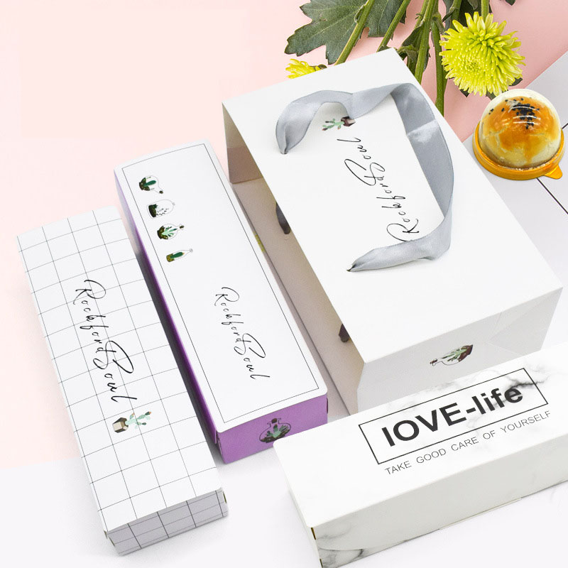 MissYe Store Palm Leaves Flowers Birthday Party Wedding Wrapping Bags Candy Cookie Biscuit Nougat Paper Gift Bag And Gift Box