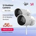 YI наружная камера наблюдения камера IP-65 водостойкий корпус камера ночного видения камера безопасности человека