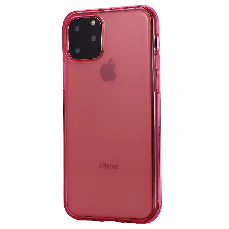 Comanke Transparent Candy Color Silicone Cases for iPhone 11/11 Pro/11 Pro Max 6