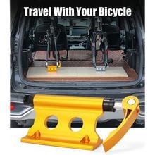 Передняя вилка для велосипеда, зажим для автомобиля, для путешествий, портативная Велосипедная вилка, стойка, держатель для езды, принадлежности, Аксессуары для велосипеда