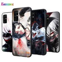 Black Silicone Cover Tokyo Ghouls For Huawei Honor 9A 9C 9S 9X Lite 30 Pro Plus 20S 8A 8C 8S 87 7C 7S Phone Case no ghouls allowed