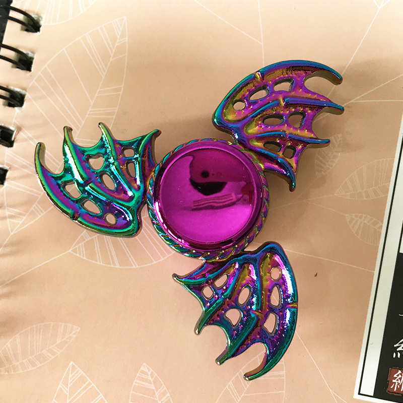 Spinner-Bearing Hand-Fidget-Toys Finger-Spinner Metal-Animals Colorful Stress-Toy Hand-Relieves img5
