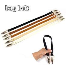 2021 New PU Bag Belt Hand Strap Pure Color PU Decorative Bag Fashion Pure Color Belt Bag Belt All-match Bag Accessories