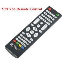 Controle remoto universal com receptor ir para lcd driver placa de controle uso para v59 v56 3463a DVB-T2 v29 3663lua placa motorista