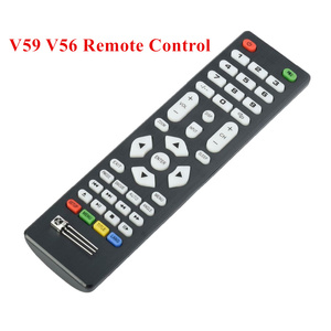 Universal Remote Control with IR Receiver For LCD Driver Control Board Use For V59 V56 3463A DVB-T2 V29 3663LUA Driver Board(China)